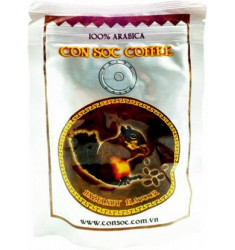 Кофе молотый CON SOC - Арабика 100%, 100 г, (Hazelnut Flavour) - Brown