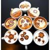 Рисование на кофе.